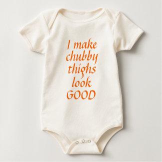 Chubby Thighs baby shirt