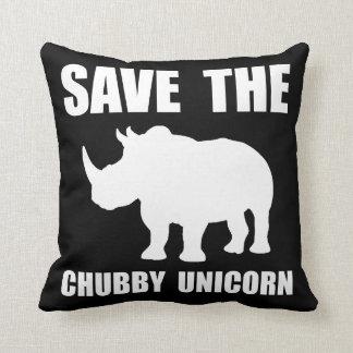 Chubby Unicorn Rhino Cushion