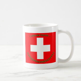 CHUCHICHÄSCHTLI COFFEE MUGS