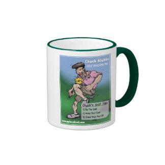Chuck Klubbs- myFarcebook Golf Teaching Pro Coffee Mug