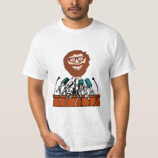 Chuck Press Conference 6 T-shirts