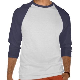 Chuck Spears Logo - Blue and Black Tshirts