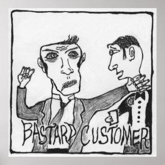 Chuck Swaim - Bastard Customer Poster