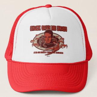 Chuck's Crabs On Your Head Trucker Hat