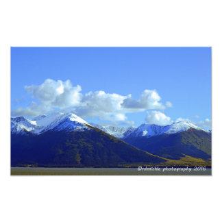 Chugach Mountains Photo Print