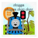 Chugga Choo Choo Train Invitations
