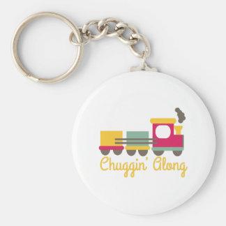 Chuggin Along Key Chain