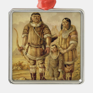 Chukchi Nomads, engraved by Winckelmann and Sons ( Christmas Ornament