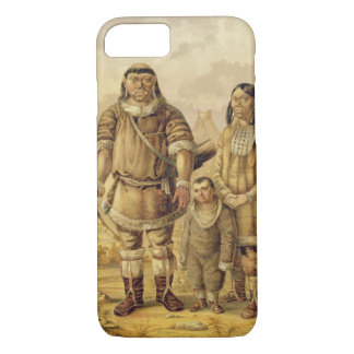 Chukchi Nomads, engraved by Winckelmann and Sons ( iPhone 8/7 Case