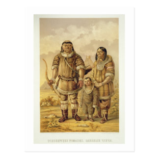 Chukchi Nomads engraved by Winckelmann and Sons Postcards