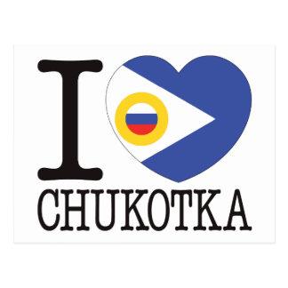 Chukotka Love v2 Postcard