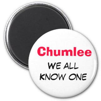 Chumlee 6 Cm Round Magnet