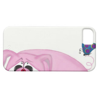 Chumley The Pig And His Visitors iPhone 5 Cases