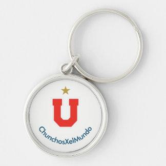 ChunchosXelMundo key ring Silver-Colored Round Key Ring
