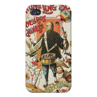 Chung Ling Soo ~ Vintage Chinese Magic Act iPhone 4/4S Cover