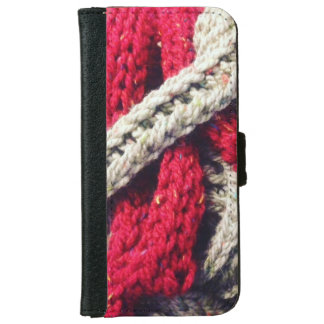 chunky knit iPhone 6 wallet case