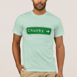 Chunky, Road Marker, Mississippi, USA T-Shirt