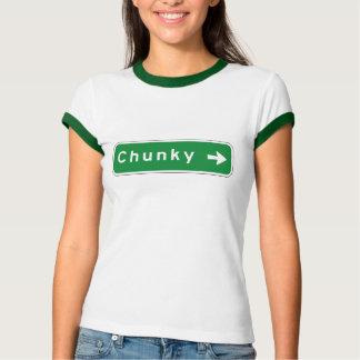 Chunky, Road Marker, Mississippi, USA Tshirt