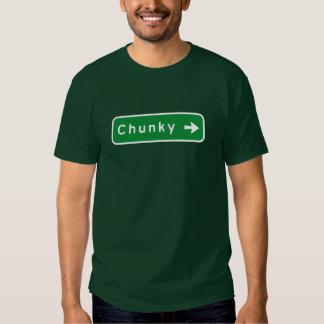 Chunky, Road Marker, Mississippi, USA Tshirts