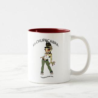 chupacabra-1 Two-Tone coffee mug