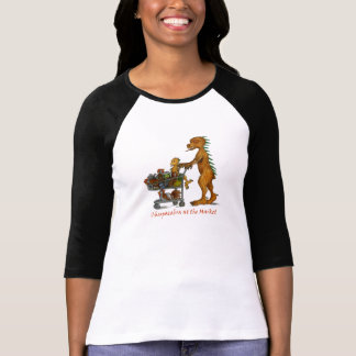 Chupacabra at the Market Ladies Shirt