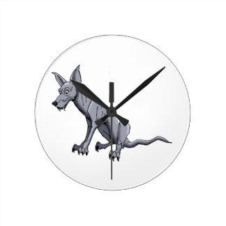Chupacabra Round Clocks