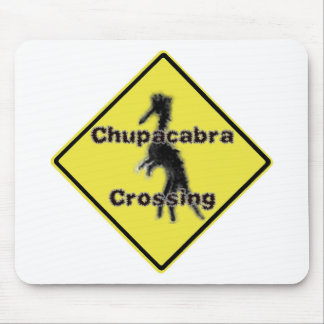 Chupacabra Crossing Mousepads