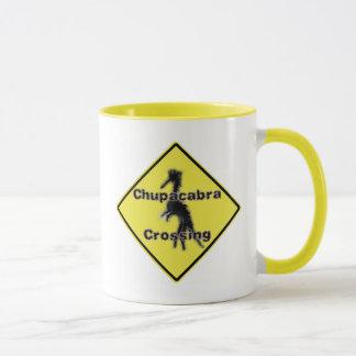 Chupacabra Crossing Mug