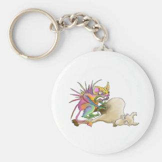 Chupacabra (Goat-sucker) Key Chains