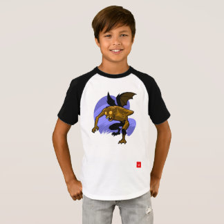 CHUPACABRA -Kids' Short Sleeve Raglan T-Shirt