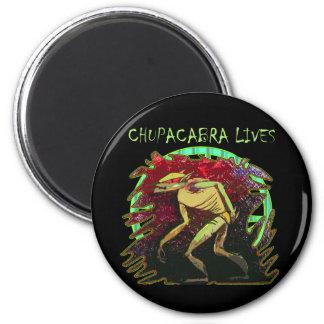 Chupacabra Lives 6 Cm Round Magnet