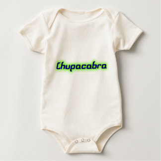 Chupacabra Text Baby Bodysuit