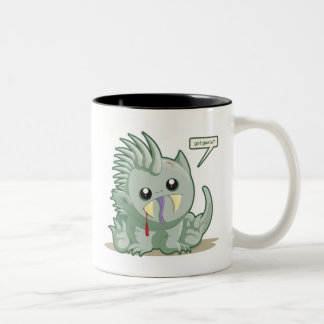 Chupacabra Two-Tone Coffee Mug