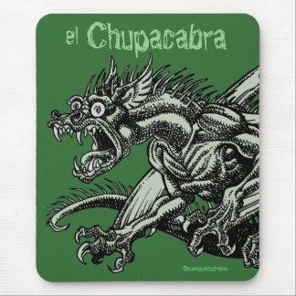 Chupacabra vertical mousepad