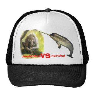 chupacabra vs narwhal cap