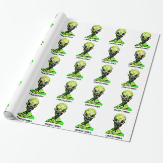 Chupacabra wrapping paper