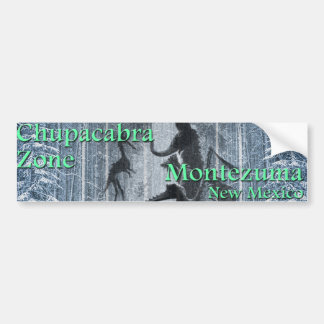 Chupacabra Zone Bumper Sticker