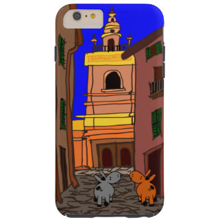church and donkeys tough iPhone 6 plus case