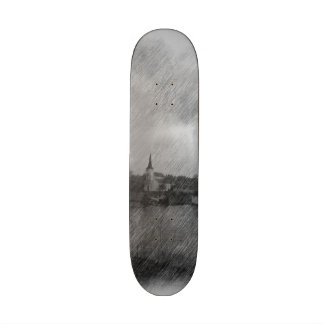 Church and sea skate boards