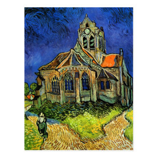 Church at Auvers Van Gogh Fine Art Postcard