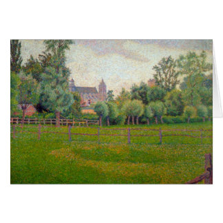 Church at Gisors by Camille Pissarro Card