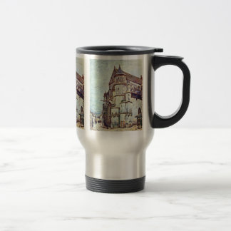 Church At Moret After The Rain By Alfred Sisley Coffee Mugs