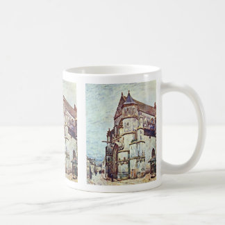 Church At Moret After The Rain By Alfred Sisley Coffee Mug