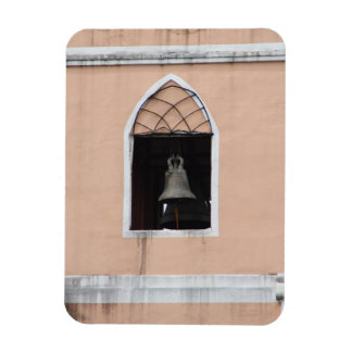 Church bell rectangle magnets