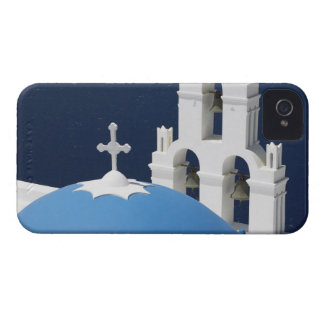 Church bells and crosses by dome in Greece iPhone 4 Case