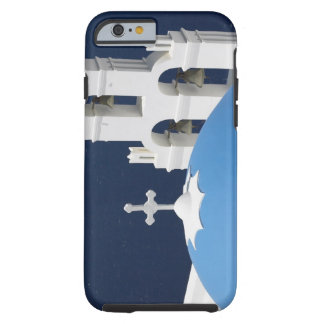 Church bells and crosses by dome in Greece Tough iPhone 6 Case