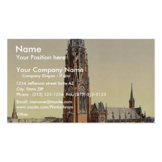 Church, Bremerhafen, Hanover (i.e. Hannover), Germ Business Card
