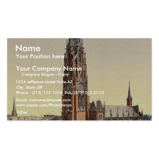 Church, Bremerhafen, Hanover (i.e. Hannover), Germ Business Card