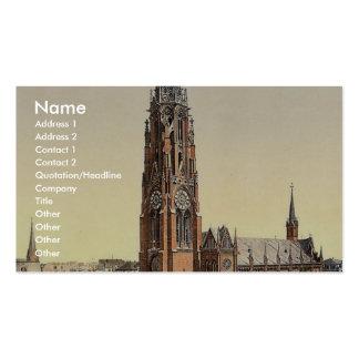 Church, Bremerhafen, Hanover (i.e. Hannover), Germ Business Card Template