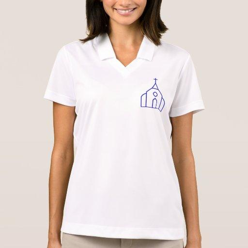 Image of Church Building Polo Shirt